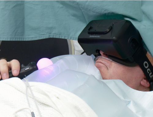 Using virtual reality to relieve Parkinson's symptoms